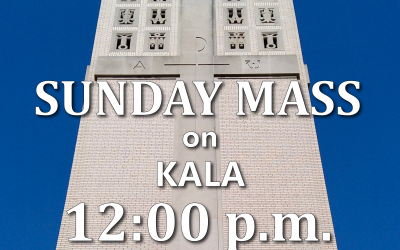 PRESS RELEASE: KALA-FM to broadcast mass live on Sundays