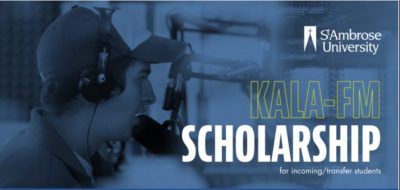KALA-FM launches new scholarship for St. Ambrose students
